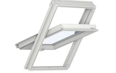 Polüuretaankattega alt avatav 3-kordse klaaspaketiga VELUX katuseaken